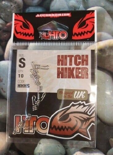 HTO Hitch Hiker size small 10 per pack, for use with soft plastic lures
